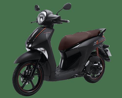 Mẫu Yamaha Janus màu đen nâu