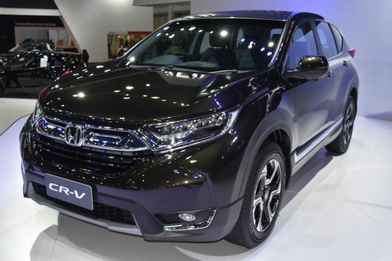 Mẫu Honda CR-V màu đen