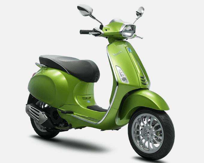 Mẫu Vespa Sprint 125 ABS màu Green