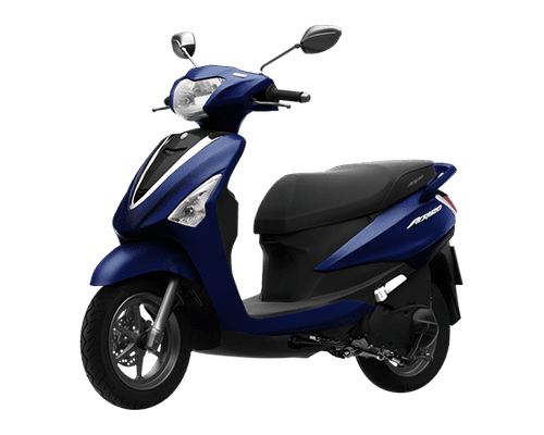 Mẫu Yamaha Acruzo màu xanh