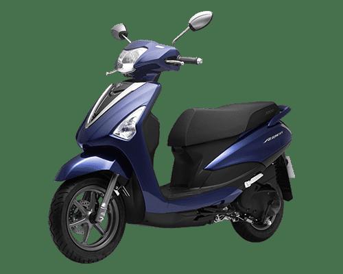 Mẫu Yamaha Acruzo màu xanh dương