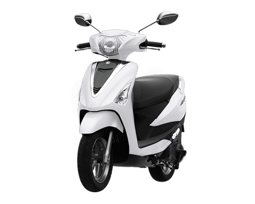 Mẫu Yamaha Acruzo màu trắng