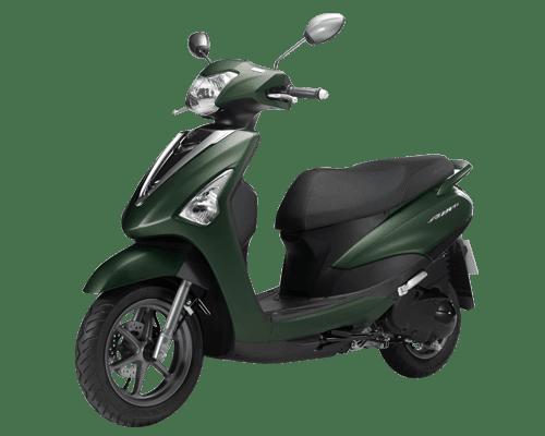 Mẫu Yamaha Acruzo màu xanh lam