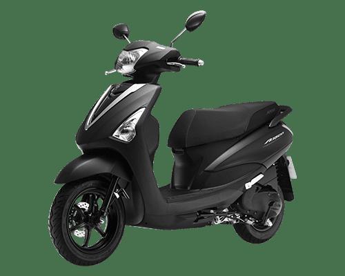 Mẫu Yamaha Acruzo bản cao cấp màu đen