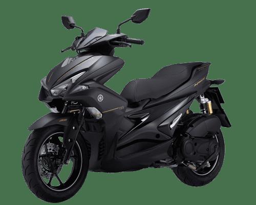 Mẫu Yamaha NVX 155 ABS màu xám đen