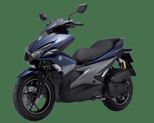 Mẫu Yamaha NVX 155 ABS màu xanh đen