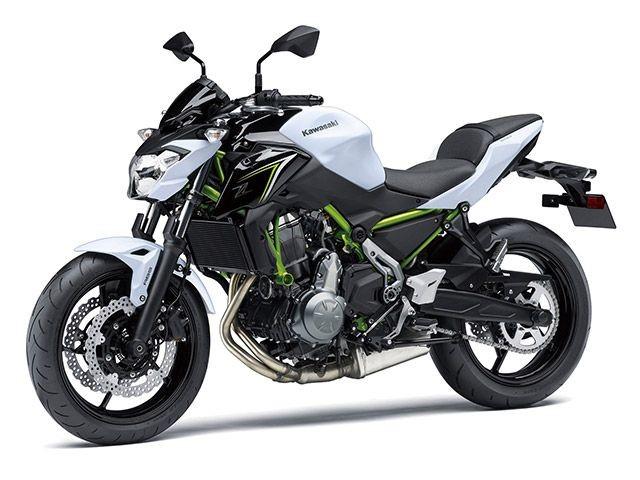 Kawasaki Z650 2018 được phát triển từ mẫu sportbike Kawasaki Ninja 650