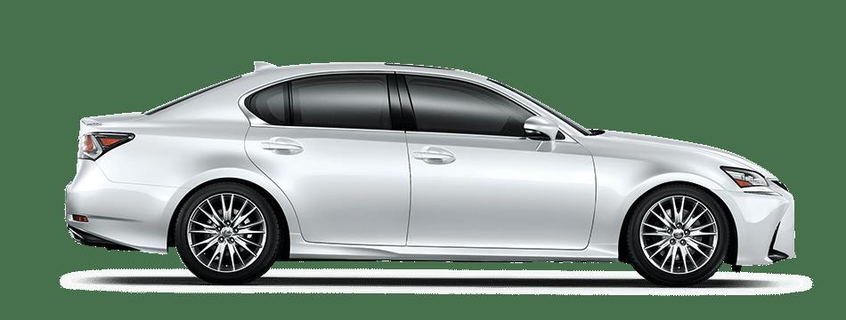Mẫu Lexus GS màu trắng