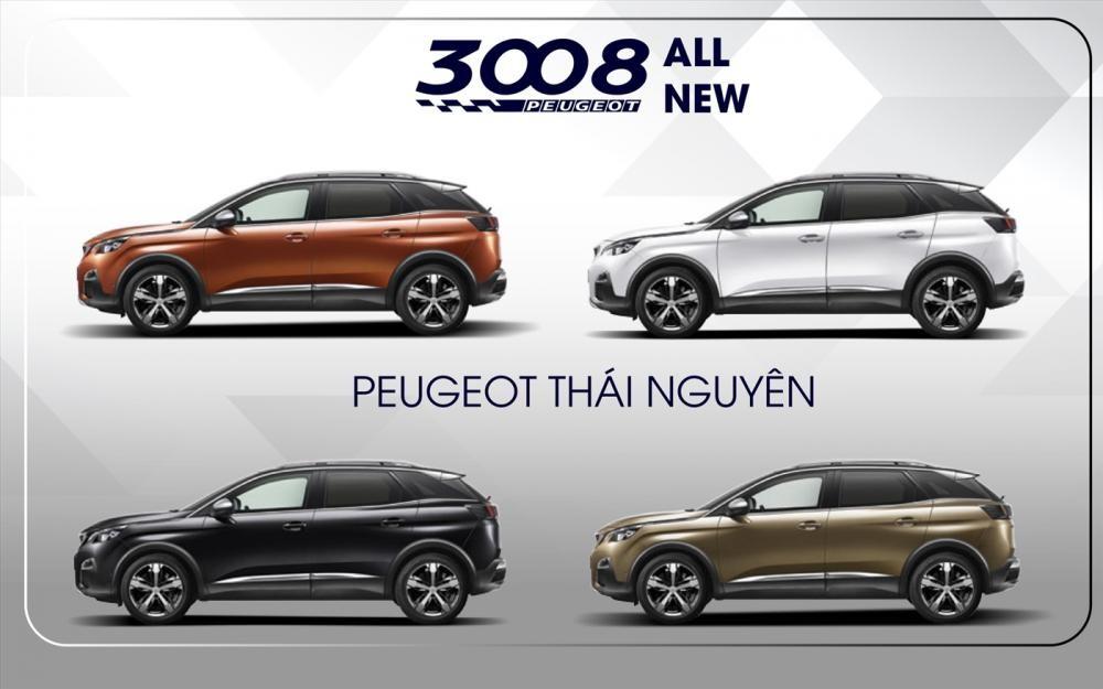 màu sắc ngoại thất của Peugeot 3008