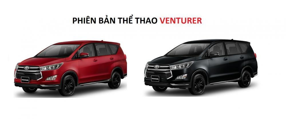 Màu sắc ngoại thất của Toyota Innova Venturer