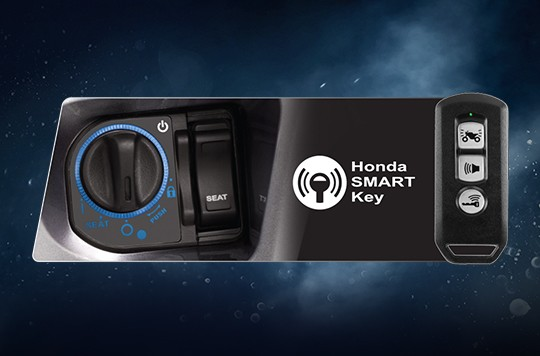 Trang bị Ổ khóa thông minh trên Honda SH