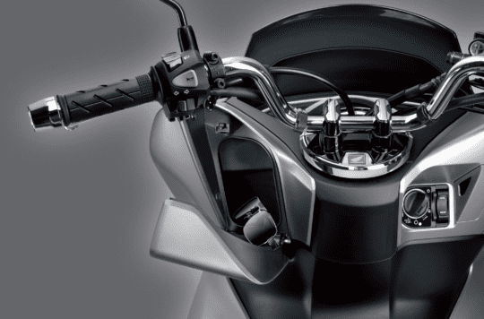 Thiết kế Hộc để đồ phía trước trên Honda PCX