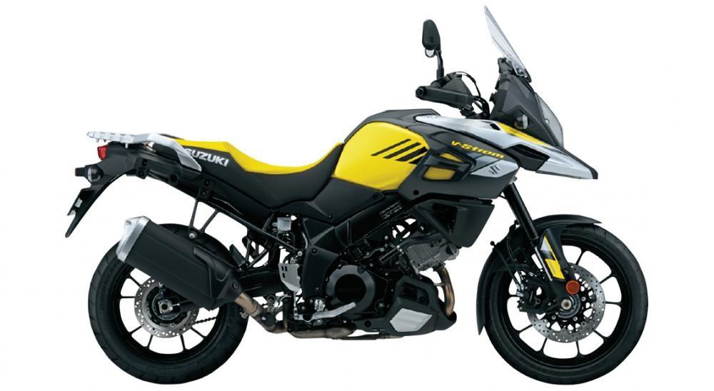 Suzuki V-Strom 1000 ABS có chiều cao yên rất hợp lý