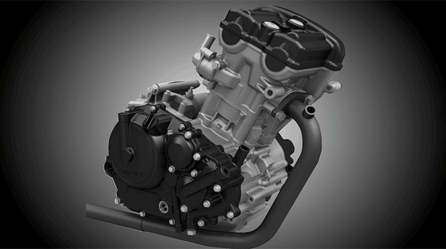 Động cơ Suzuki GSX-S150 tương tự động cơ của GSX-R150