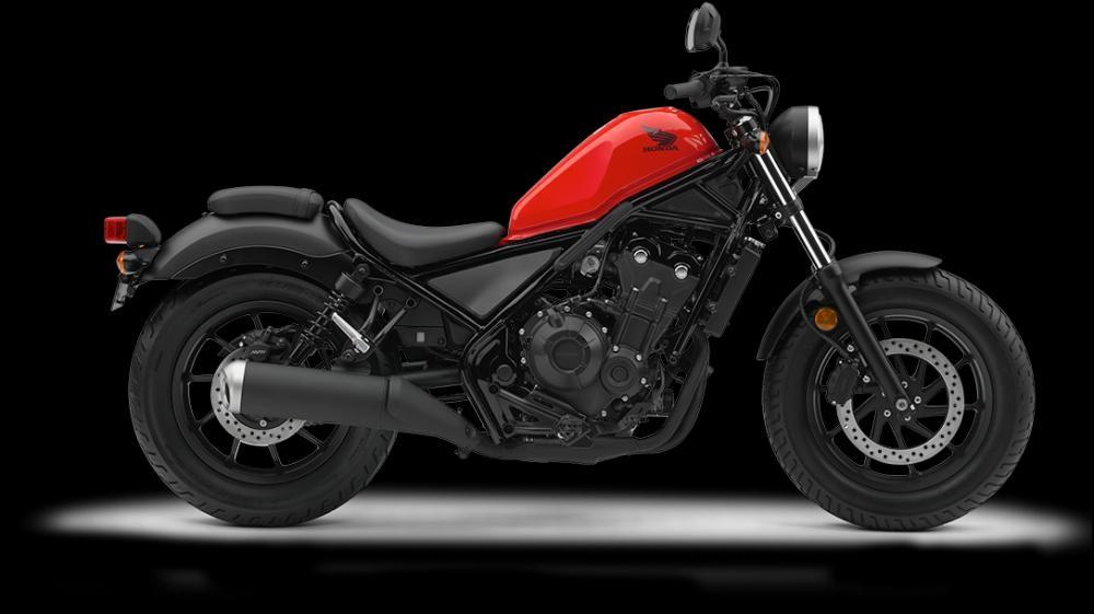Mẫu Honda Rebel 500 màu đỏ đen