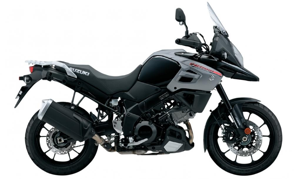 Mẫu Suzuki V-Strom 1000màu đen