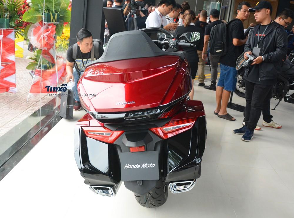 Thiết kế đuôi xe Honda Gold Wing