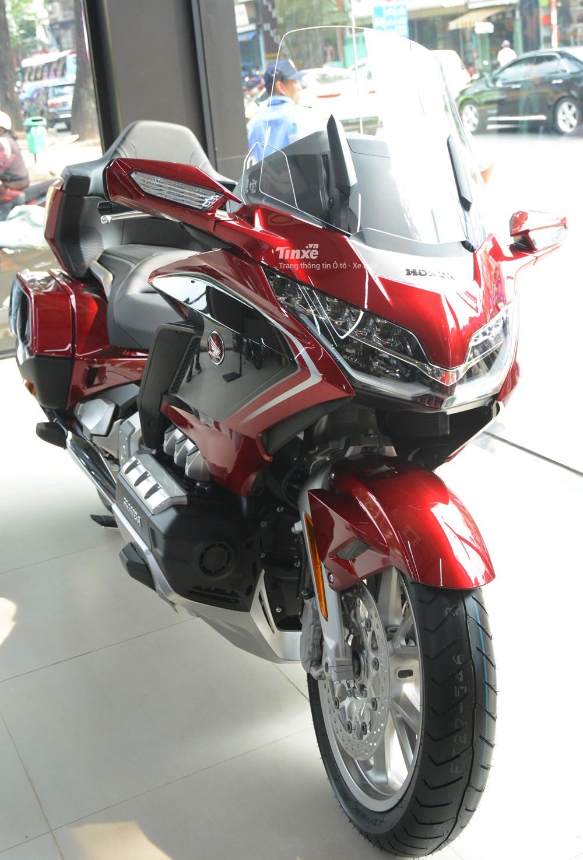 Thiết kế xe Honda Gold Wing 2018