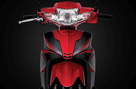 Thiết kế phần đầu xe Honda Blade 110