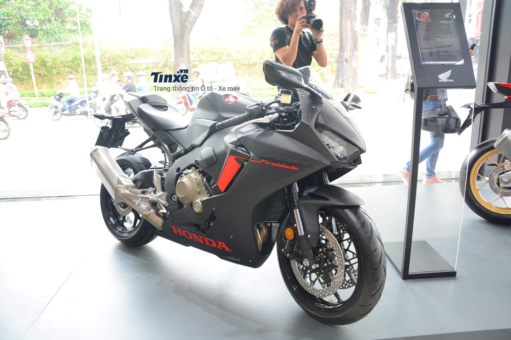 Mẫu Honda CBR1000RR FireBlade tại Việt Nam