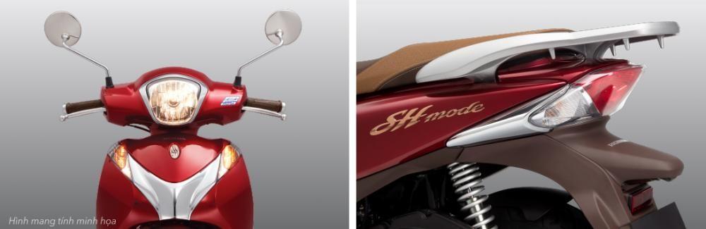 Thiết kế Phần đầu và đuôi xe Honda SH mode