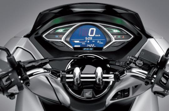 Mặt đồng hồ LCD trên Honda PCX 2021