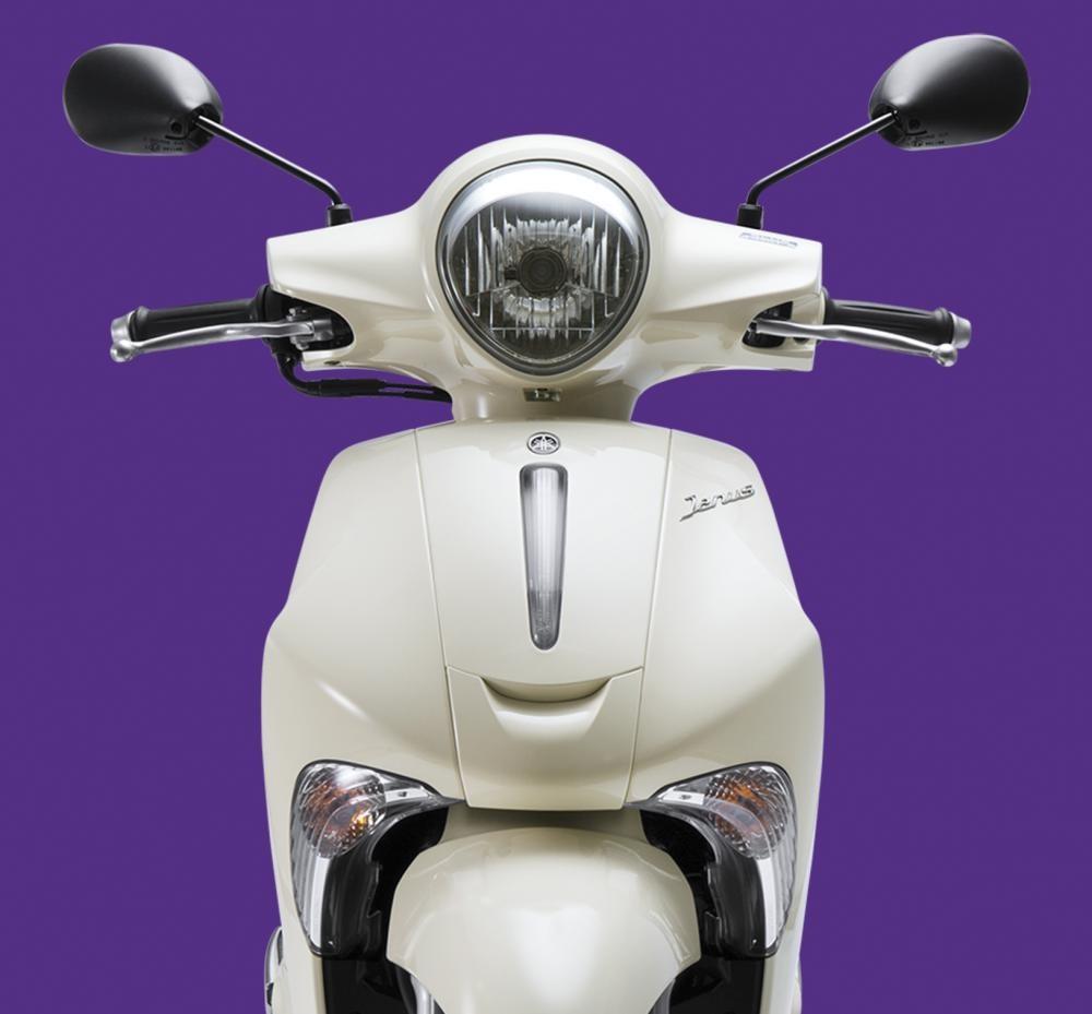 Thiết kế đầu xe Yamaha Janu