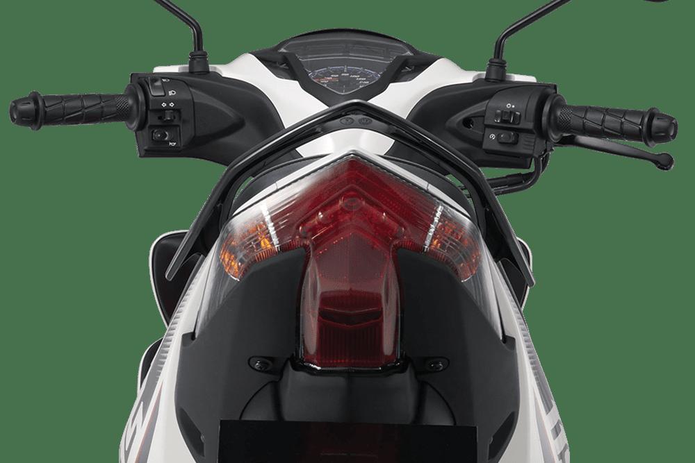 Thiết kế đuôi xe Yamaha Jupiter