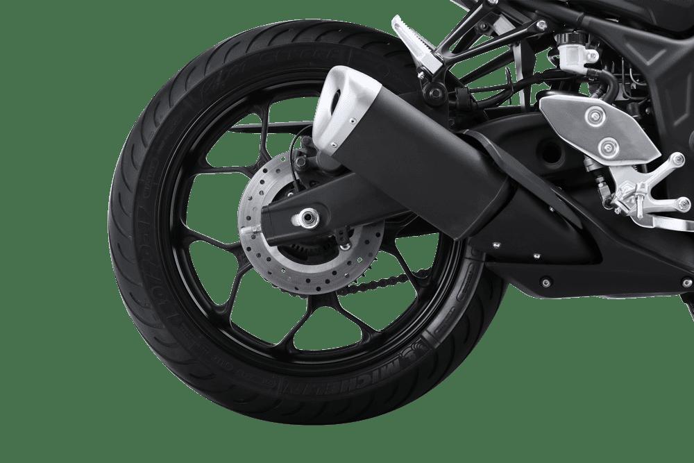 Trang bị Hệ thống treo trên Yamaha MT-03
