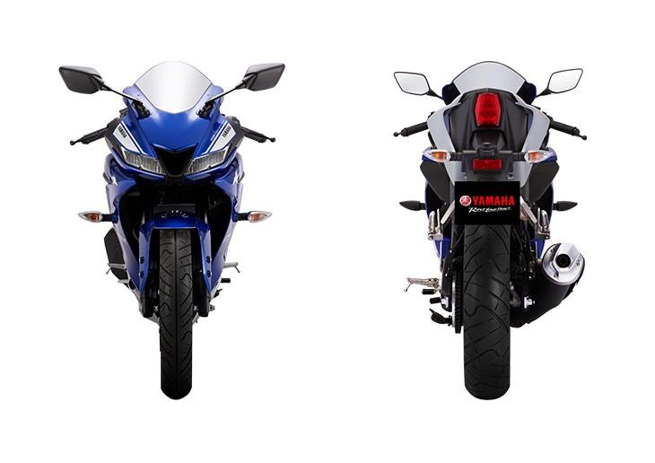 Thiết kế ngoại hình Yamaha R15 V3