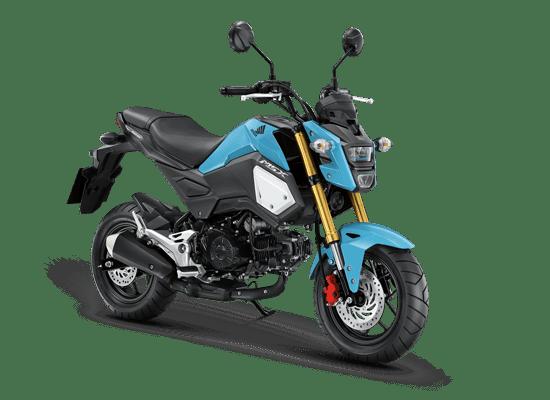 Mẫu Honda MSX màu xanh đen