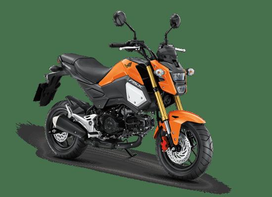 Mẫu Honda MSX màu cam đen