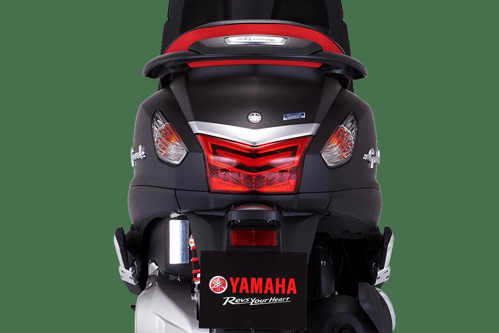 Thiết kế phần đuôi xe Yamaha Grande