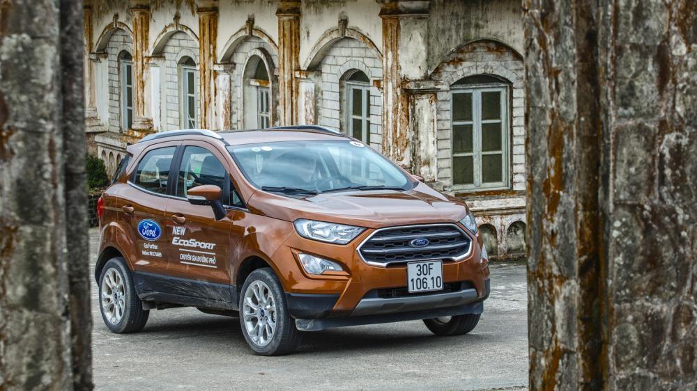 Thiết kế ngoại thất của Ford EcoSport