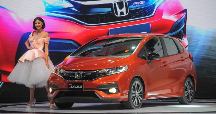 Thiết kế ngoại thất của Honda Jazz
