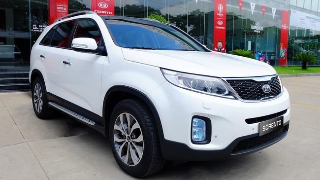 Giá xe Kia Sorento 2019mới nhất tại Việt Nam
