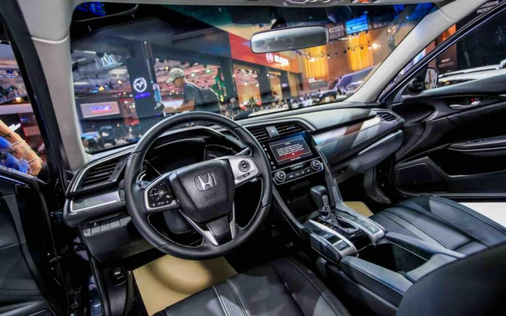 Thiết kế nội thất của Honda Civic