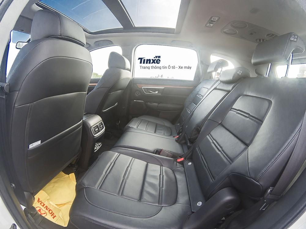 Thiết kế ghế ngồi của Honda CR-V