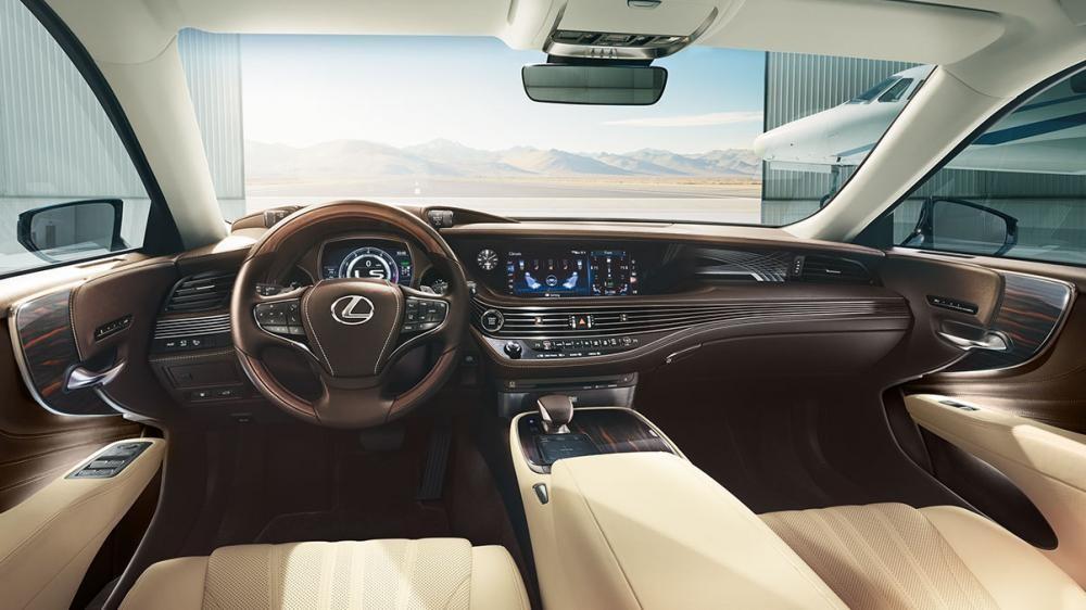 Thiết kế nội thất Lexus LS