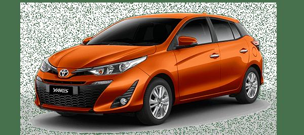 Toyota Yaris 2019màu cam