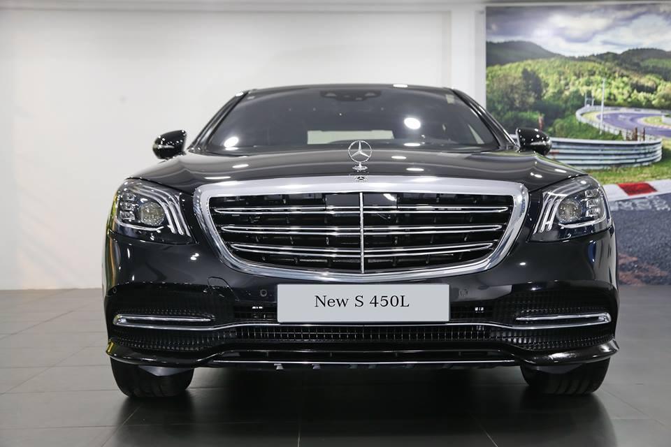 Mercedes-Benz S450L 2021 với thiết kế ngoại hình sang trọng