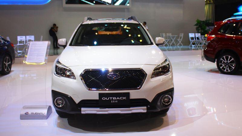 Ngoại thất của Subaru Outback 2019