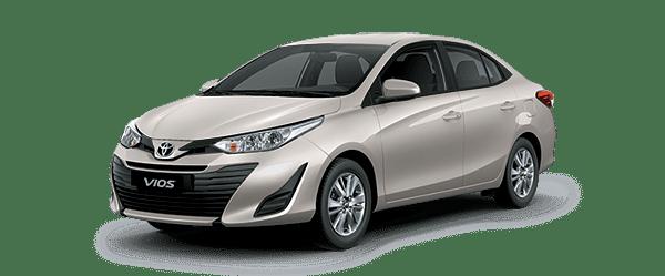 Ngoại thất Toyota Vios màu be