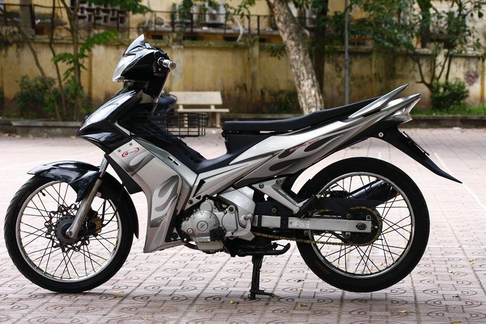 Vẻ ngoài thể thao của mẫu Yamaha Exciter 2006