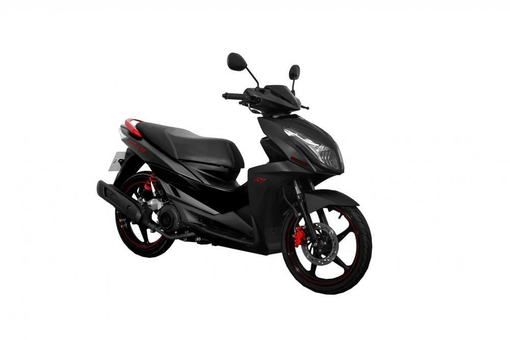 Suzuki Impulse Đen mờ