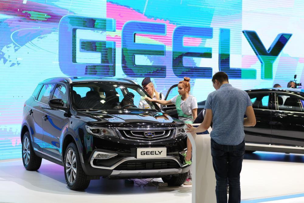 Geely đã vươn lên trở thành nhà sản xuất ô tô lớn thứ 3 ở thị trường nội địa Trung Quốc