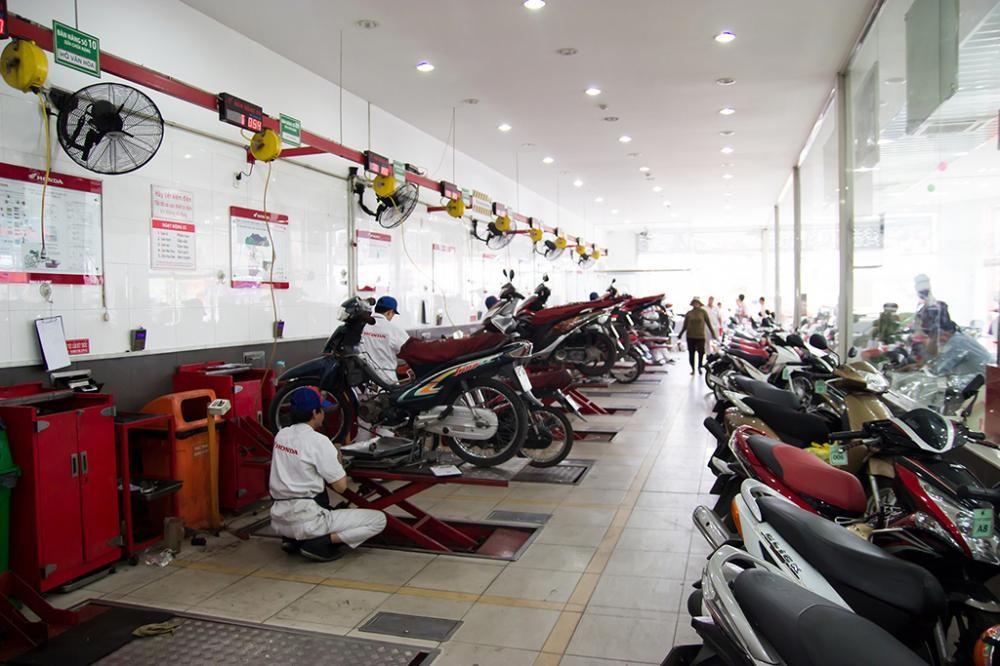 Trung tâm bảo hành xe Honda
