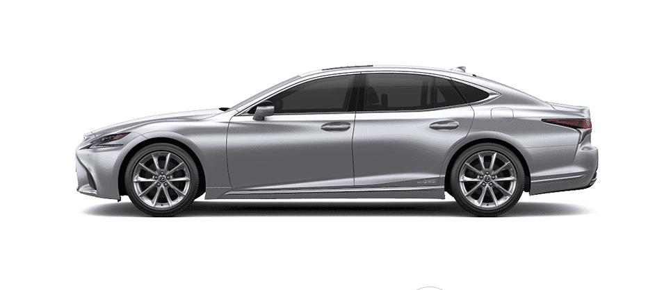 Ngoại thất Lexus LS màu bạc
