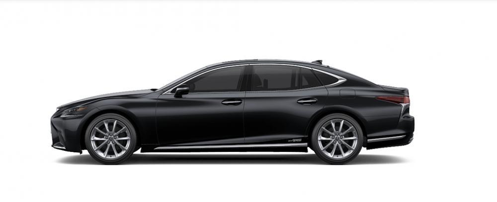 Ngoại thất Lexus LS màu xám đen
