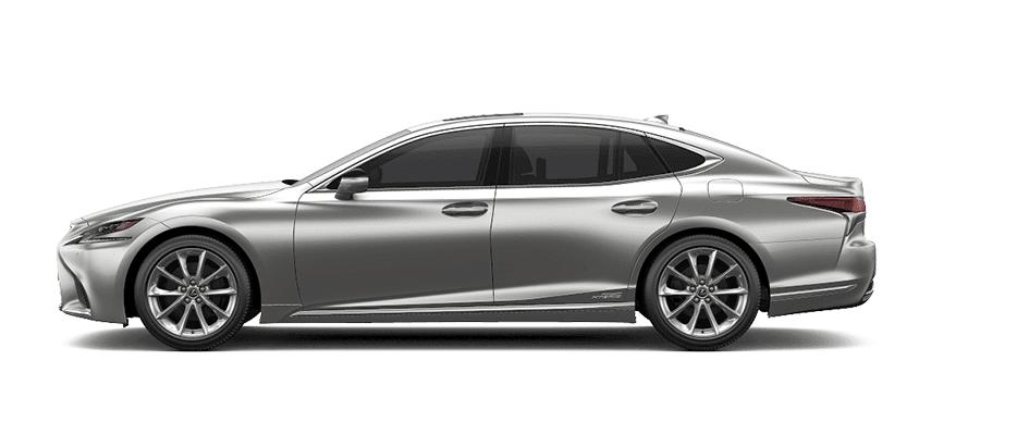 Ngoại thất Lexus LS màu xám trắng